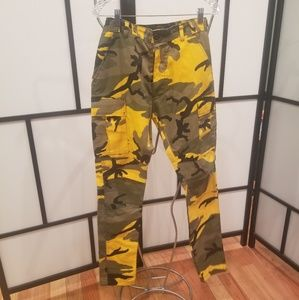 Other - Yellow Camouflage Army Pants